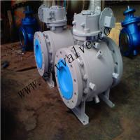 China Forged Trunion Ball Valve, 3-pc, high pressure on sale