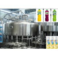 Quality 4000BPH Automatic Juice Filling Machine Bottled With Rotary Structure for sale