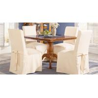 Quality 100% cotton hotel banquet restaurant chair cover for sale