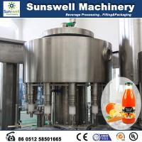 Quality Stainless Steel Hot Filling Machine Automatic For Orange Juice for sale