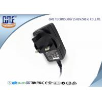 Quality 12V 1.5A Switching Power Adapter / wall mount adapter 18W for Electrical Equipments for sale