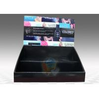 Buy Table Top Cardboard Display Stand 2 Tiers for Cosmetics , foldable at wholesale prices