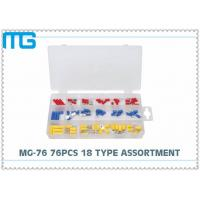 Quality MG - 76 76 Pcs Automotive Wire Connector Kit RV SV FDD Quick Disconects 18 Types for sale