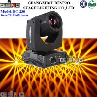 Buy cheap ORSAM lamp 7r 230w Beam Moving Head Light from wholesalers