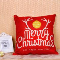 Quality Merry Christmas Series Sofa Cushion Covers Decorative Digital Printing For Gift for sale