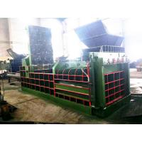 Quality Hydraulic Metal Balers Press Machine For Leftover Metals / Copper / Aluminum Y81Q-200 for sale