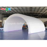 China 6*3*3m White Inflatable Tunnel Tent Durable Oxford Cloth For Event Easy To Clean on sale