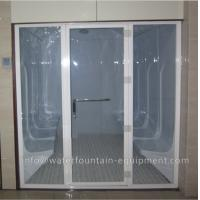 Quality Acrylic Wet Steam Sauna Room , Luxury 6 Person Home Steam Room 3640 * 1800 * 2150mm for sale