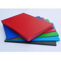 Quality Shiny PVC Extruded Foam Board Non Toxic Rigid For Architectural Decoration for sale
