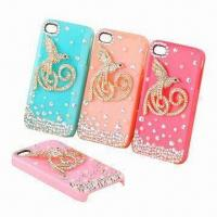 Quality Silicone Mobile Phone Housings for iPhone, Dust-proof, Customized Designs, Colors Welcomed for sale