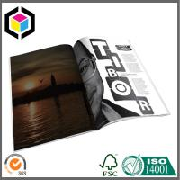 Quality Glossy CMYK Color Magazine Printing Factory; Custom Artwork Magazine/ Brochure for sale
