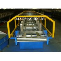Buy Aluminum Galvanized PVC Roofing Gutter Roll Forming Machine Hall Round at wholesale prices