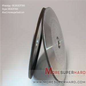 Quality 4A2 resin bonded diamond grinding wheels for carbide profile grinding Alisa@moresuperhard.com for sale