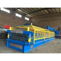 Quality AG/PBR R Panel Roll Forming MachineHigh Speed Hydraulic Cutting 0.3-0.8mm Thickness for sale