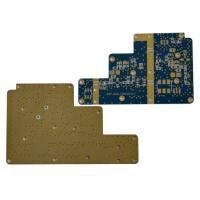 Quality High Frequency Multilayer Rigid PCB RT / Duroid 5880 Laminates 0.254 Stable Dielectric for sale