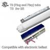 Warm White T8 LED Tube Light AC 100V - 277V 50Hz / 60Hz Input PC Lens for sale
