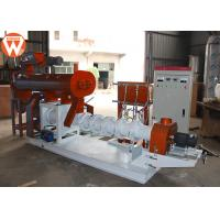 Quality 2250kg Floating Fish Feed Pellet Machine Conditioning Power 3KW Sinking 1T/H for sale