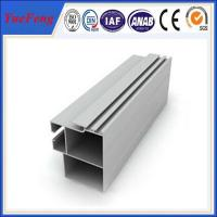 Quality Hot! anodized mill aluminum hollow profile, Railway vehicles structure industrial aluminum for sale