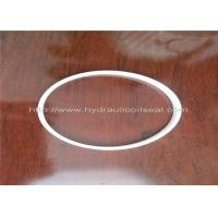 Quality PTFE Hydraulic Cylinder Seals , Pure White Excavator Air Cylinder Seals for sale