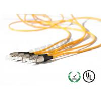 Buy 1F Zip 2mm Fiber Optic Patch Cord Corning Cable 7m Length With Single Mode at wholesale prices