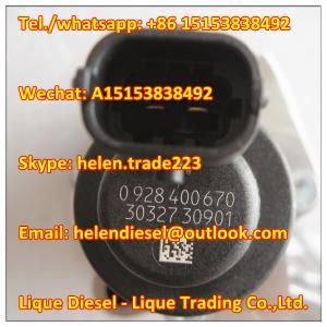 Quality 100% original BOSCH Fuel Pressure Regulator 0928400670, 0 928 400 670 Metering valve 01340622 ,134 0622,20794130 for sale