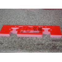 Quality DIN 5510 Certification GPO3  Red Laminate Sheet , Fiberglass Plate Sheet for sale