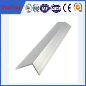 Quality Angle aluminum profile, aluminum angle, 60*60*6mm aluminum angle profile for sale