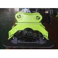 Quality Customized Trench Hydraulic Plate Compactor , Steel Plate Compactor For Excavator CAT320 CAT322 for sale