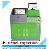 Quality 5.5kw/220v/3phase common rail diesel injector test bench with Europe flow sensor for sale