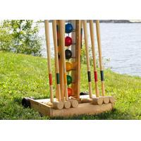Buy PP Yarn Custom Artificial Croquet Lawn For Hockey / Gate Ball Courts Synthetic at wholesale prices