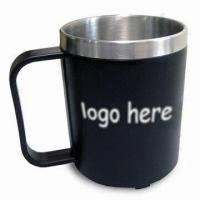 Quality Stainless Steel Mug with AS Outer Material, Skid-resistant Bottom and 8oz Capacity for sale