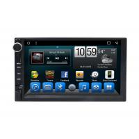 Quality Automotivo Universal Double Din Car Dvd Player , Central GPS DVD 7 Inch Touch Screen for sale