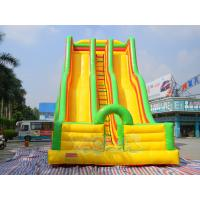 Quality Gaint Inflatable Double Lane Slide for sale