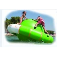 China Large Inflatable Water Sports / Air Tight Water Ufo Island In Water Park Amusement Games on sale