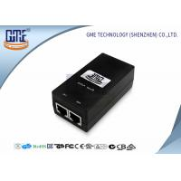 Buy Desktop Switching POE Power Adapter 12V 0.8A with UL FCC GS Certificated at wholesale prices