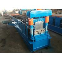 Buy cheap Hydraulic Cutting Metal Cold Hat Purlin Roll Forming Machine , Material Thickness 1-3mm from wholesalers
