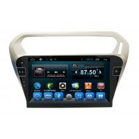 Quality Quad Core Car Dvd Player Peugeot Navigation System 301 Kitkat Systems for sale