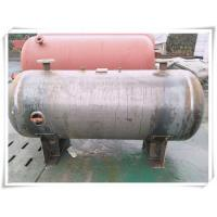 Quality 3000 Liter Stainless Steel Air Receiver Tank , Pneumatic Compressed Air Reservoir Tank for sale