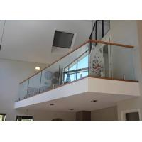 Buy cheap Cheap price 15mm tempered frameless glass balustrade system with spigots from wholesalers