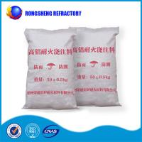 Quality High Alumina Content Refractory Castable for sale