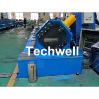 Quality 150 / 300mm Cable Tray Cold Roll Forming Machine With GI , Carbon Steel Raw Material for sale