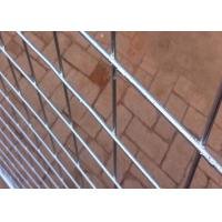 Quality Hot Dipped Galvanized Steel Temporary Fencing With 38MM Pipe Plastic Foot for sale