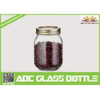 Quality Clear mason jars canning jars 500ml for sale
