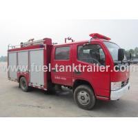 China Dongfeng Water Pumper Fire Truck 73kw Engine Power 2000kg Tank Capacity on sale