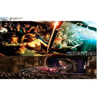 Quality 6D Cinema Movie Theater With 3D Glasses, Rain, Wind, Lightning Special Effect System for sale