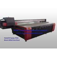 Quality High Speed MDF Board Wood Printing Machine Double Lead Screw Driving System for sale