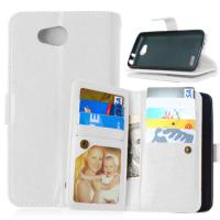 LG L70 L90 K7 K8 K10 Zone 3 Wallet Case Retro Leather Cover Bags Pouch 9 Cards