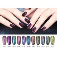 Quality Charming Multi Color Chameleon Cat Eye Gel Nail Polish Fashionable for sale