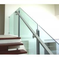 Quality Widely useful cear tempered or laminated glass panel for balcony & fencing for sale