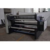 Quality 1000kg Non Woven Fabric Slitting Machine 1600mm Unwinding Width , 80m/Min ZXC-A1600 for sale